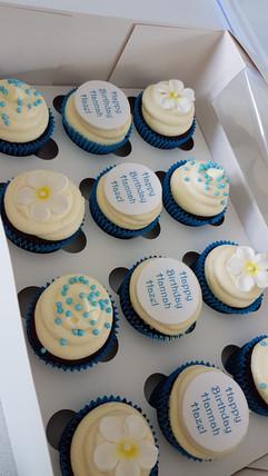 Tropical Birthday Cupcakes