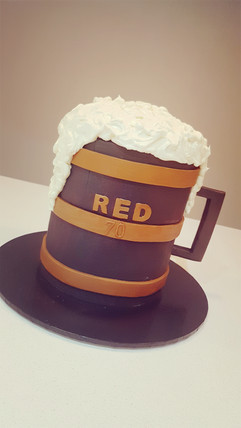 A Jug of Beer Cake