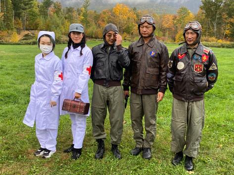 枫香参与二战重演 珍爱和平