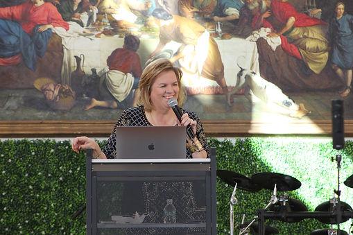 Pastor Nancy Engelhardt at CMCC