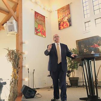 Pastor Bob Engelhardt at CMCC