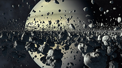 Asteroïd field