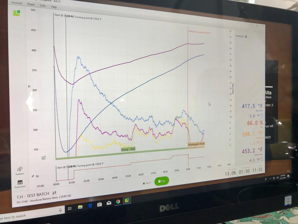 Computer Roasting Process