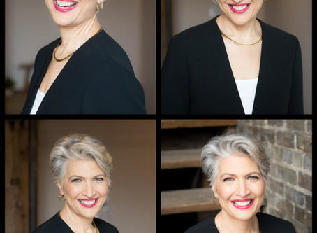 Headshots sessions are fun! Promise!