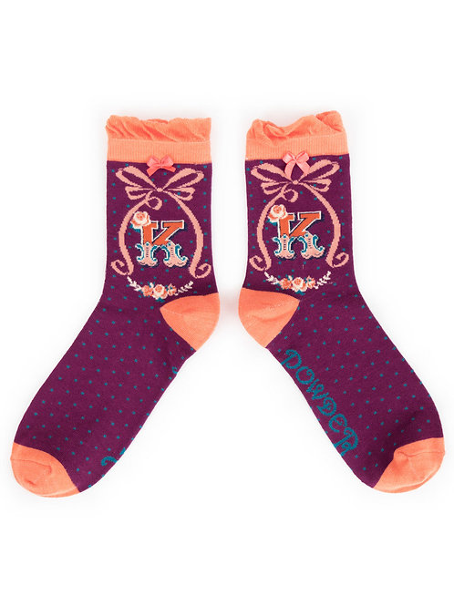 Powder UK - A - Z Socks - K