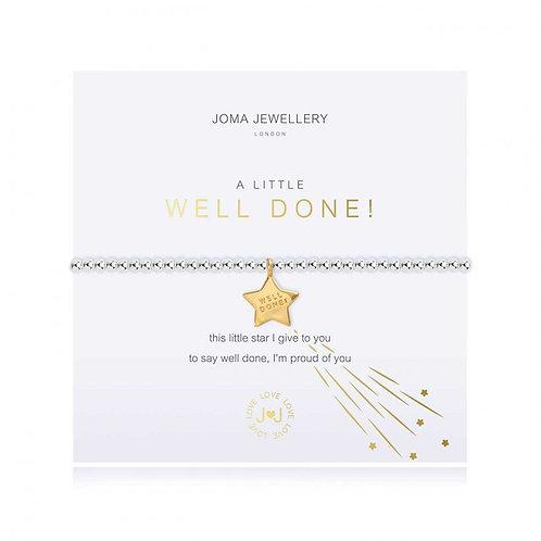 Joma Jewellery - 'A Little' Well Done Bracelet
