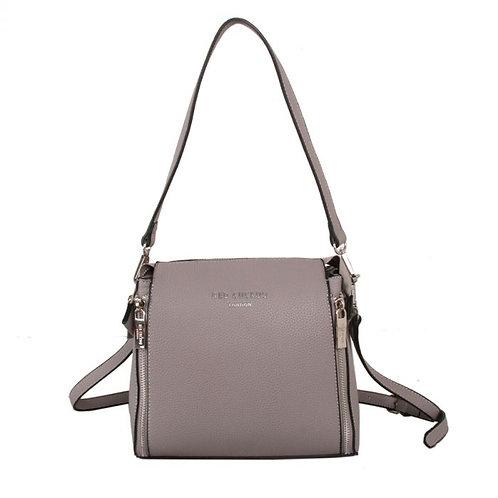 Red Cuckoo - Grey Shoulder Bag
