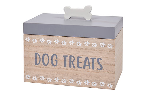 Dog Treats Wooden Box