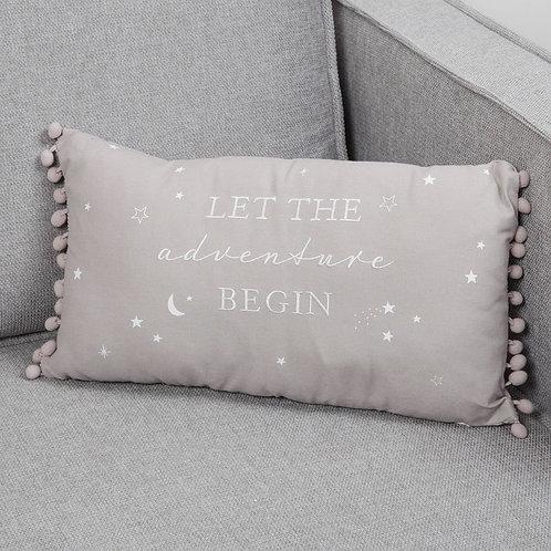 Let The Adventure Begin - Cushion