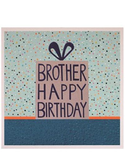 Brother - Birthday Card