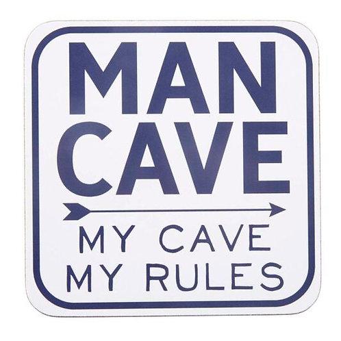 Man Cave - Coaster