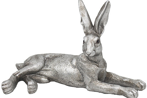 Silver Laying Hare