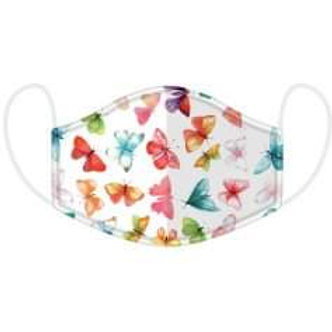 Adult Butterfly Face Covering - Washable