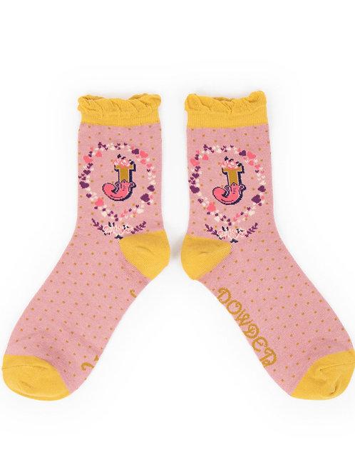 Powder UK - A - Z Socks - J