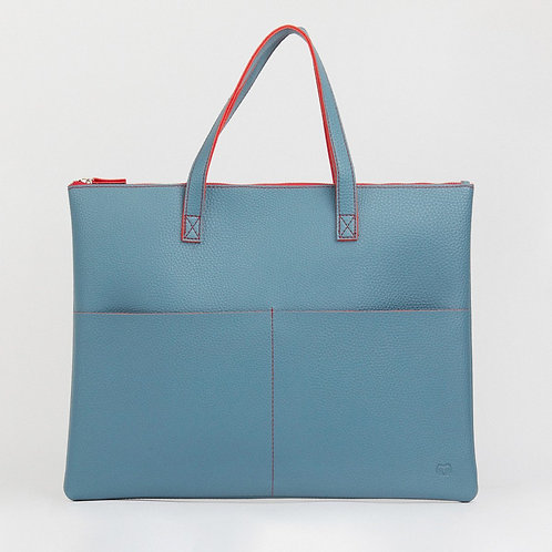 Tucuman Tote Bag - Vegan Friendly - Teal