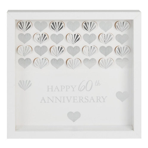 60th Anniversary - Framed Wall Plaque
