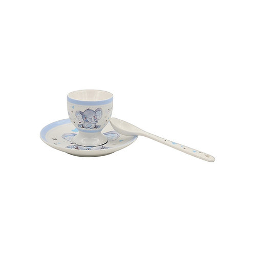 Blue - Bird & Ellie Egg Cup Set