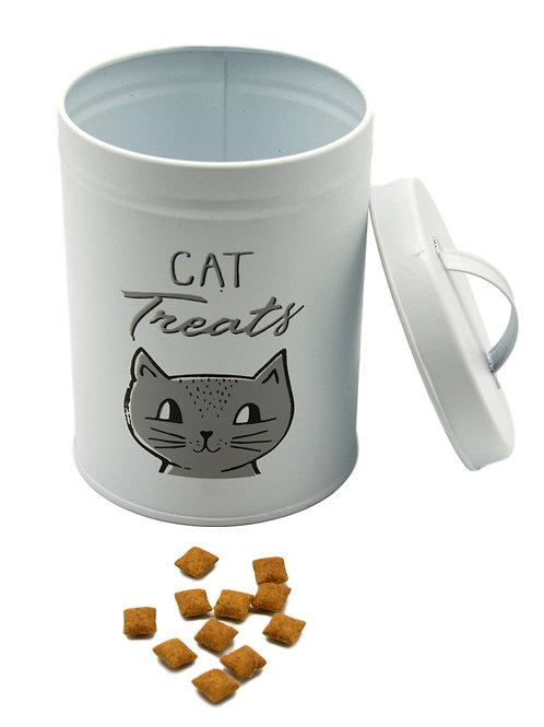 Cat Treats Tin