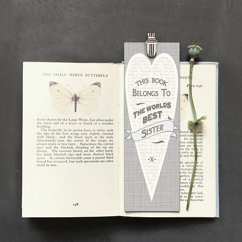East Of India - World's Best Sister Bookmark
