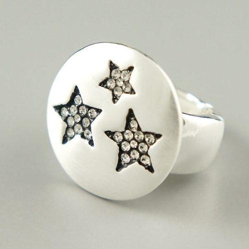 Tito - Silver Star Ring