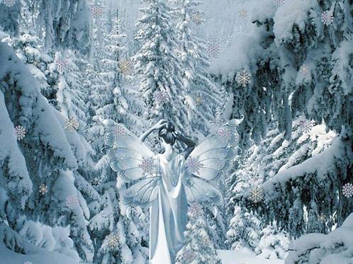 Hidden Pretty Soy Wax Melts Gift Bag - Snow Fairy