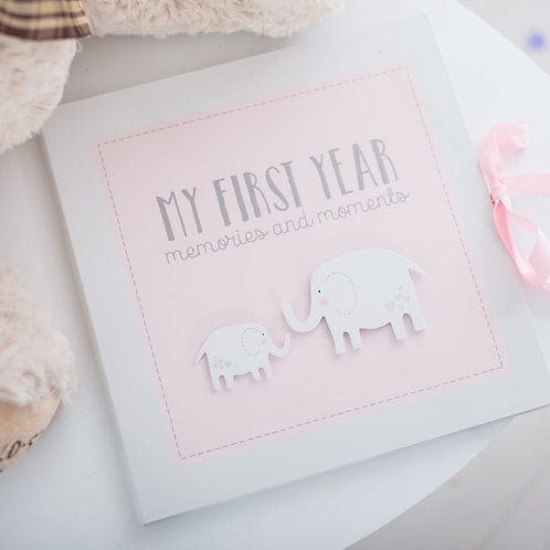 My First Year  - Memories And Moments Book