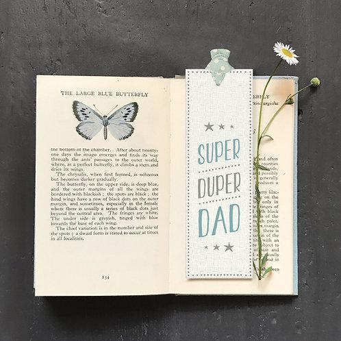 East Of India - Super Duper Dad Bookmark