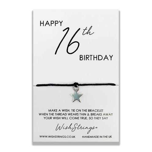 WishStrings - Happy 16th Birthday