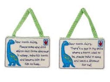 Dinosaur Tooth Fairy Envelope