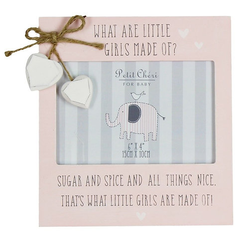 What Are Little Girls Made of? - Photo Frame