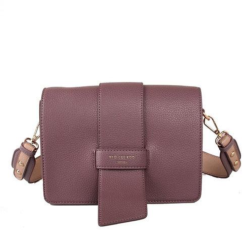 Red Cuckoo -Dusky Purple Cross Body Bag