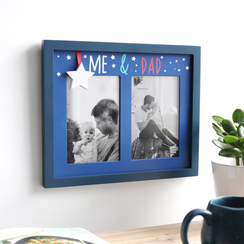 Dad & Me - Double Photo Frame