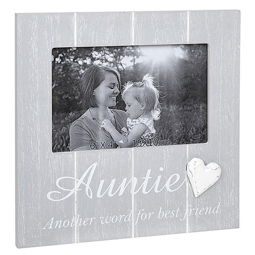 Auntie - Cool Grey Frame