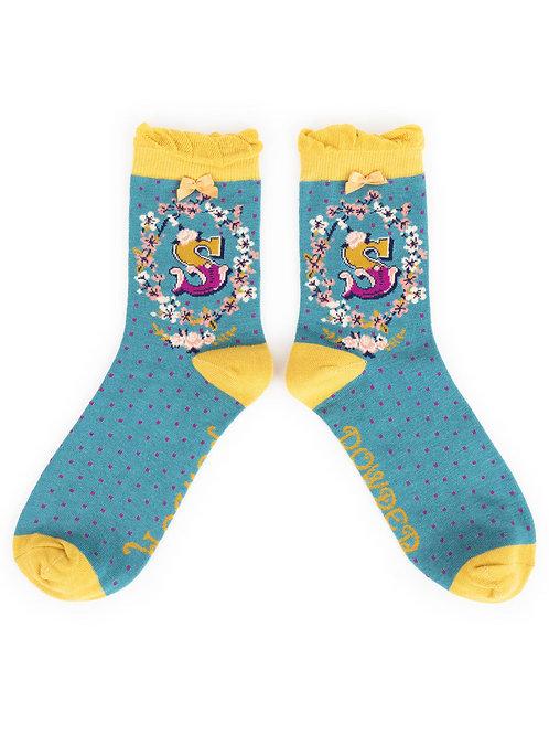 Powder UK - A - Z Socks - S