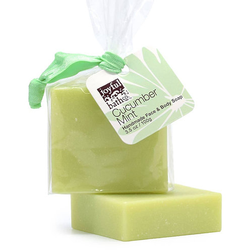Joyful Face & Body Soap - Cucumber Mint