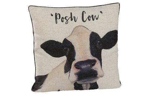 Posh Cow Cushion