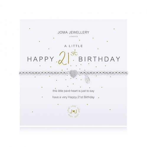 JOMA JEWELLERY - 'A Little' 21st Birthday Bracelet