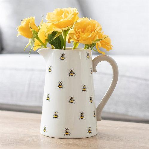 Bee Ceramic Flower Jug