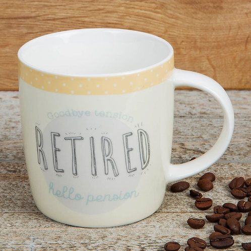 Retirement Stoneware Mug