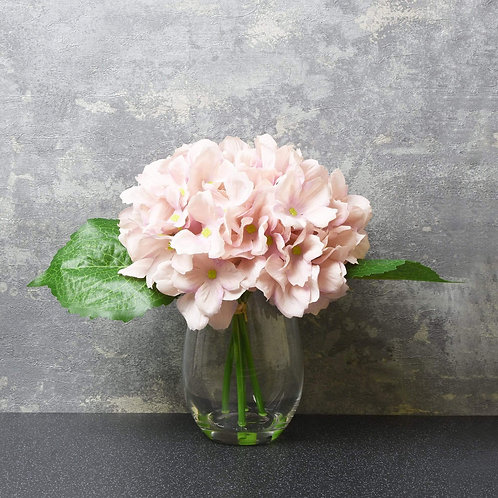 The Flower Patch - Pink Hydrangea In Vase