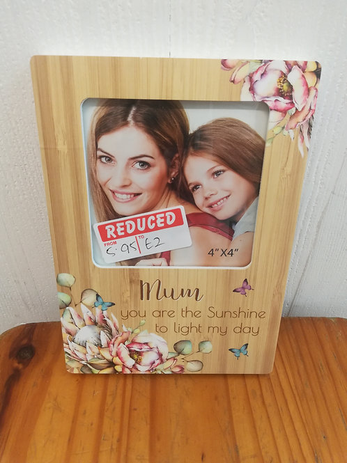 Mum Small Floral frame