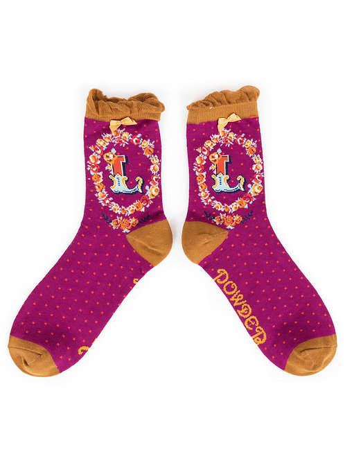 Powder UK - A - Z Socks - L