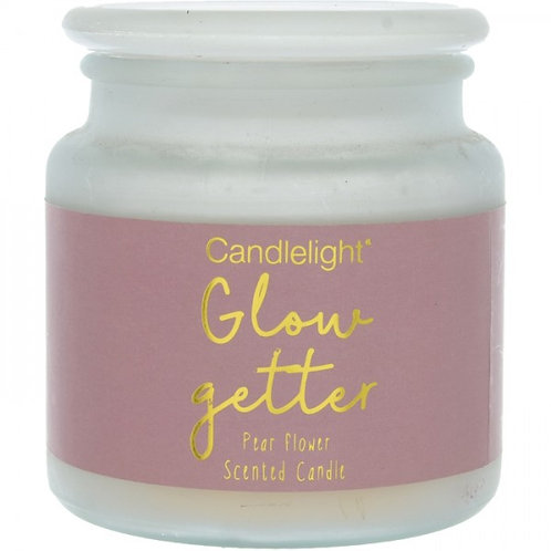 Candlelight 'Glow Getter' Large Candle - Pear Flower