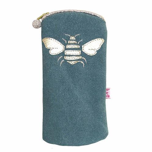 Lua - Bee Glasses Case - Teal