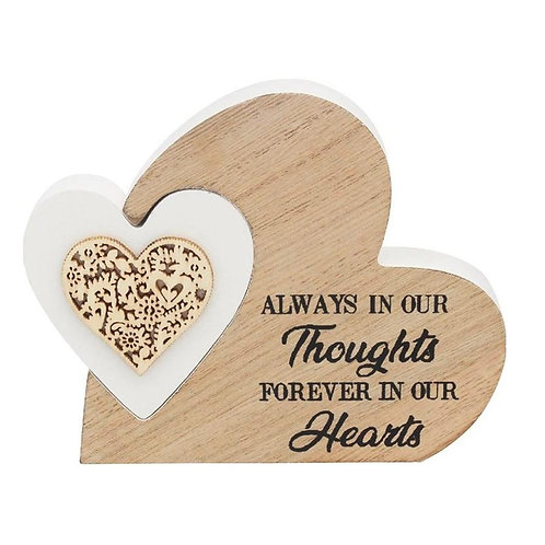 Always In Our Thoughts - Double Heart Block
