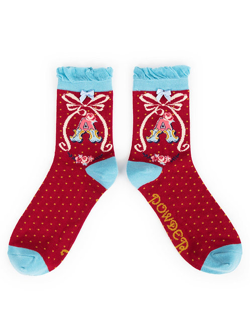 Powder UK - A - Z Socks - A