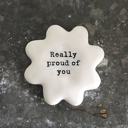 East Of India - 'Really Proud Of You' Flower Token