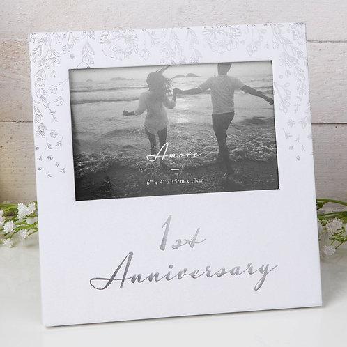 1st Anniversary - Photo Frame