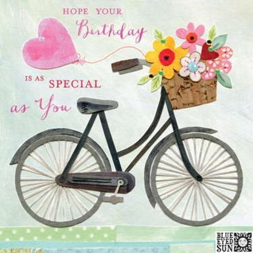 Special As You Birthday Card