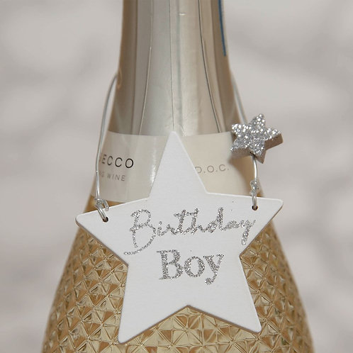 Birthday Boy - Wine Bottle Tag